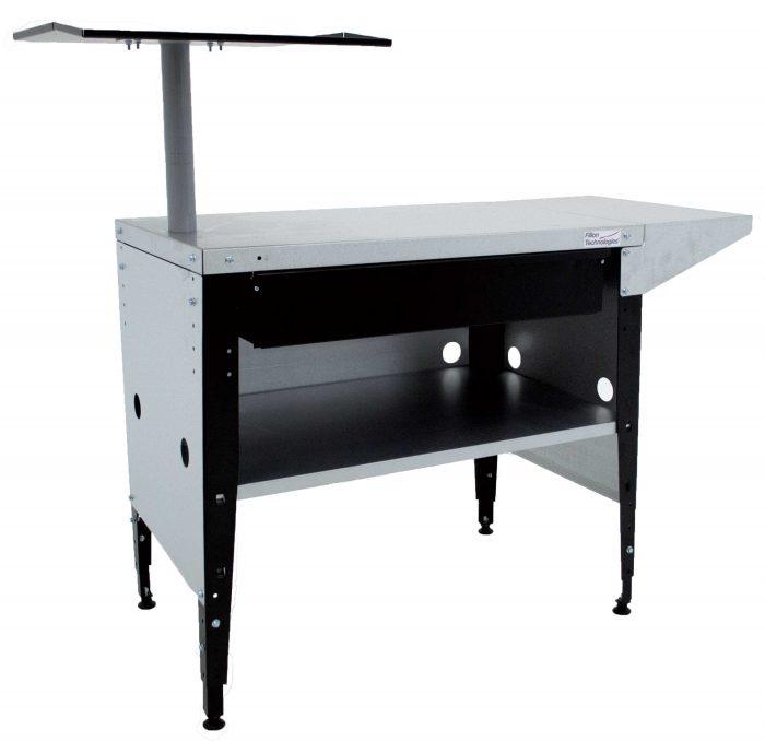 table 90 rallonge tiroir habillage support pc